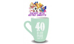 40th Birthday Cuppa Sweets