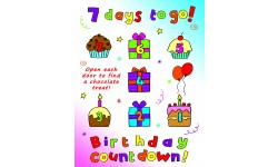 Chocolate Birthday Coutdown