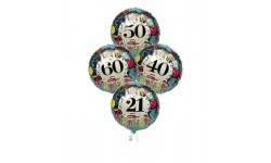 Birthday Age Balloon