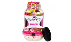 Seductive Personalised Sweet Jar