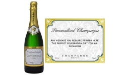 Personlised Bottle Of Champagne