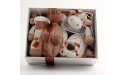 Cow Baby Gift Set