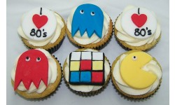 Love The 80s Handmade Cupcakes