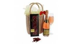 Sparkling French Wine & Chocolate