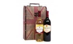 Red and White Wine Vintage Gift
