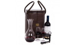 Decanter, Wine and Glasses
