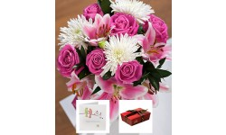 Happy Anniversary Flower Gift