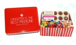 Laughter is the Best Medicine Sweet Tin