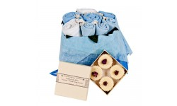 Mummy and Me Blue Gift Set