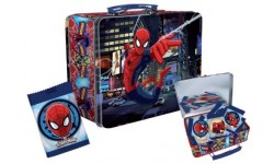 Spiderman Tin Lunchbox With Sweets