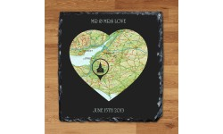 Personalised Our Special Place Heart Keepsake