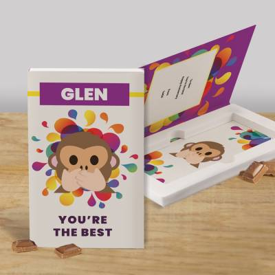Personalised You're The Best Cadbury Chocolate Card