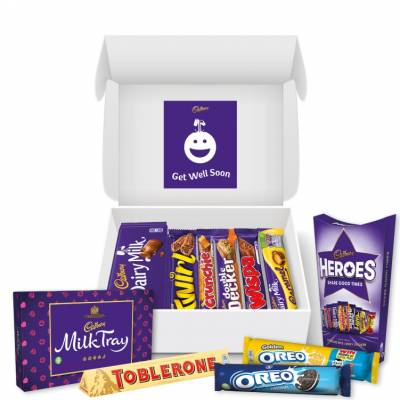 Get Well Soon Cadbury Hamper