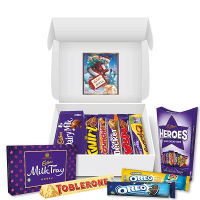 Personalised Christmas Cadbury Hamper