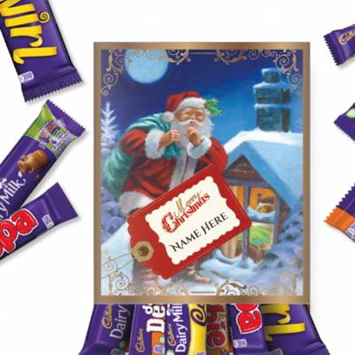 Personalised Vintage Cadbury Favourites Box