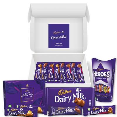 Personalised Cadbury Lovers Hamper