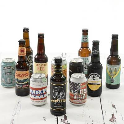 12 Craft Beers Gift