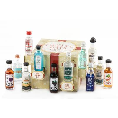 12 Days Of Christmas Gin Gift