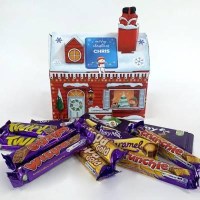 Personalised Mixed Cadbury Chocolate Santa's Grotto