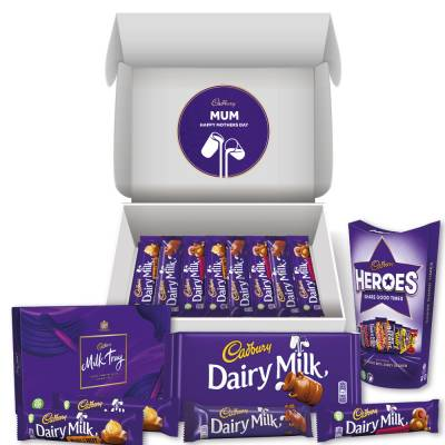 Personalised Cadbury Mothers Day Hamper