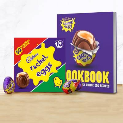 Personalised Cadbury Creme Egg x 10 Pack and Cook Book
