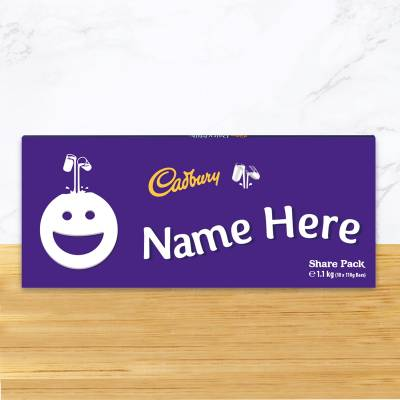 Personalised 1.1KG Cadbury Dairy Milk Giant Share Pack