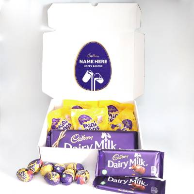 Personalised Cadbury Easter Hamper