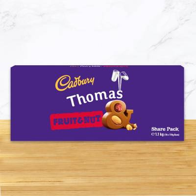 Personalised Cadbury Fruit & Nut Share Pack 1.1kg