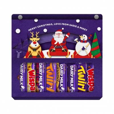 Personalised Cadbury Christmas Selection Box