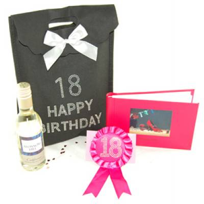 18th Birthday Bag - Funkyhampers Gifts