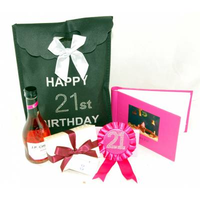 21st Birthday Bag - Funkyhampers Gifts