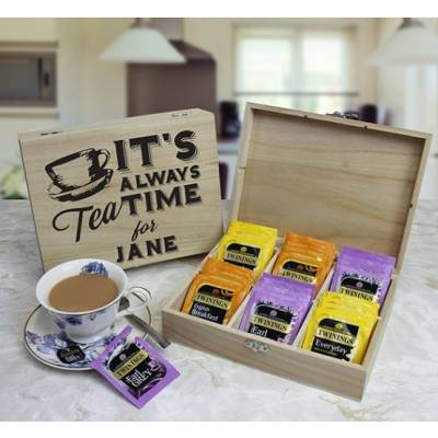 Personalised British Tea Set