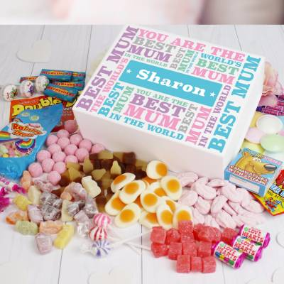 Personalised Best Mum Tuck Box