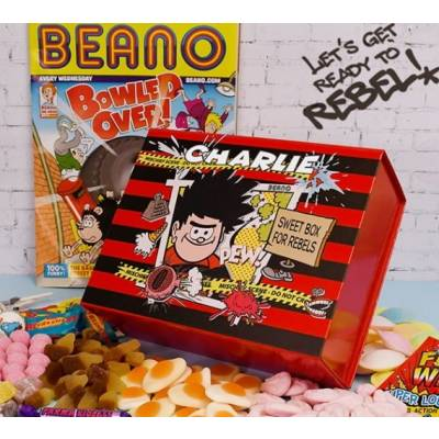 Personalised Official Beano Sweet Box