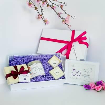 Happy 30th Birthday Box - 30th Birthday Gifts