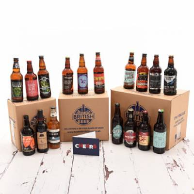 40 British Beers Collection