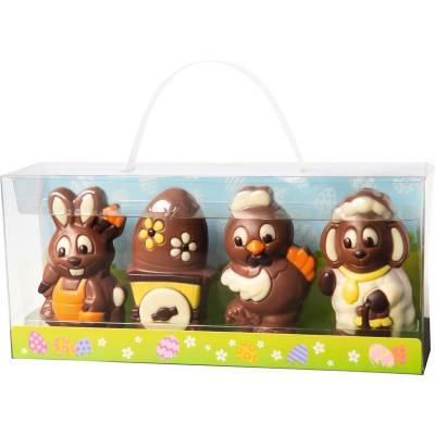 4 Easter Chocolate Figures