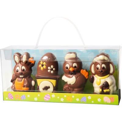 FunkyHampers 4 Easter Chocolate Figures