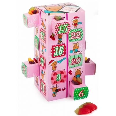 Girls Sweets Advent Calendar