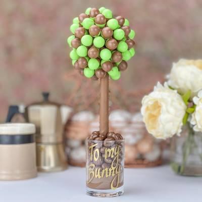 Mint Aero Eggs Chocolate Tree