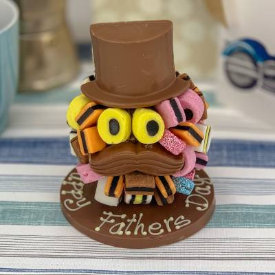 Liquorice Allsorts Chocolate Head - Funkyhampers Gifts