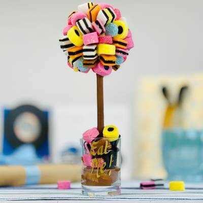 Personalised Liquorice Allsorts Funky Sweet Tree 25cm