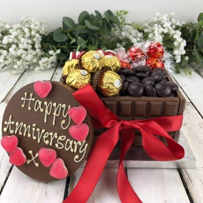 Happy Anniversary Chocolate Box