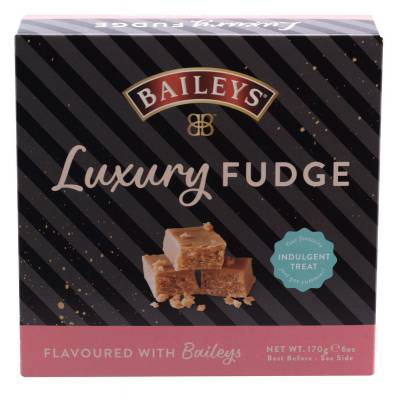 Luxury Baileys Fudge Carton