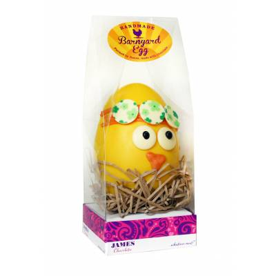 Barnyard Chic Chocolate Egg