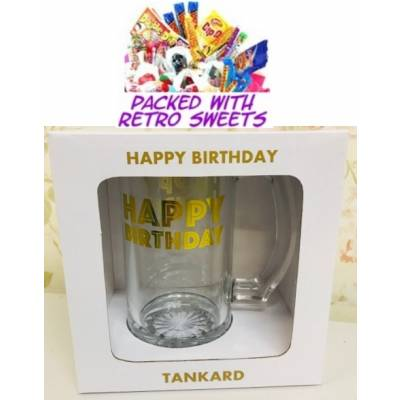 Happy Birthday Tankard Cuppa Sweets