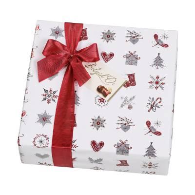 Christmas Gift Wrapped Belgian Chocolates 345g