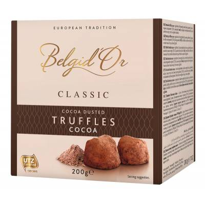 Cocoa Dusted Christmas Truffles