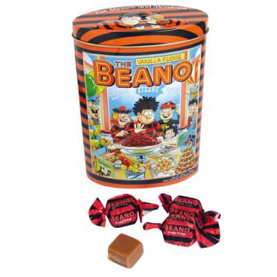 Beano Fudge Tin
