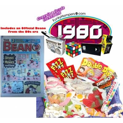 Beano 80s Sweets Box - Beano Gifts